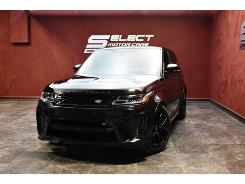 Santorini Black Metallic 2019 Land Rover Range Rover Sport SVR
