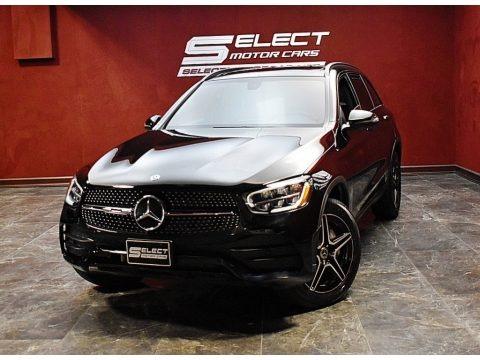 Black 2020 Mercedes-Benz GLC 300 4Matic
