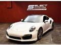 Porsche 911 Turbo Coupe White photo #6