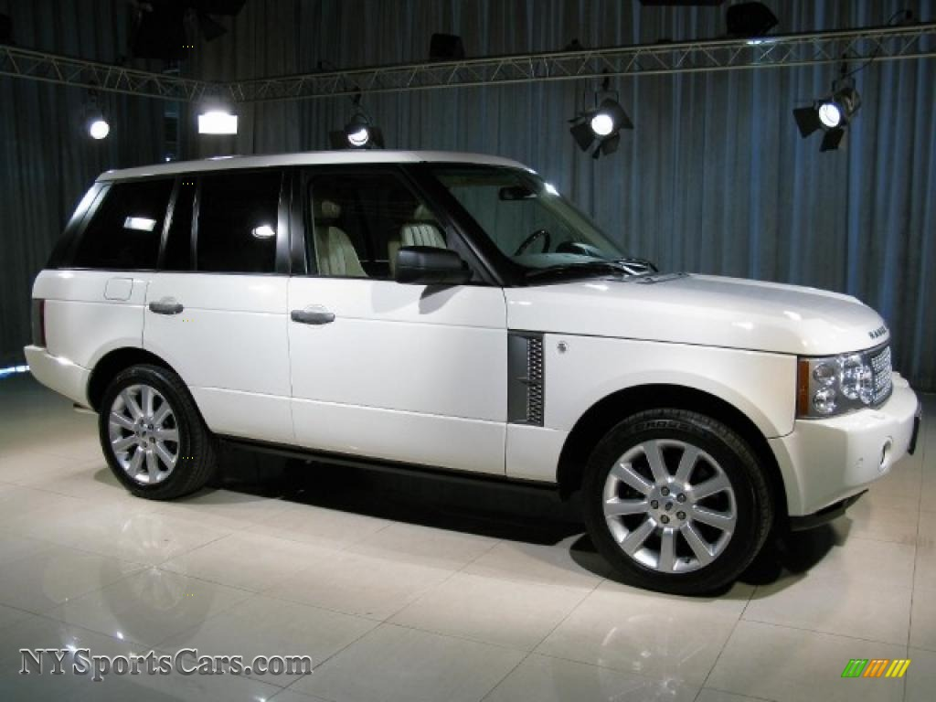 2006 land rover range rover supercharged in chawton white photo 3 238853. Black Bedroom Furniture Sets. Home Design Ideas