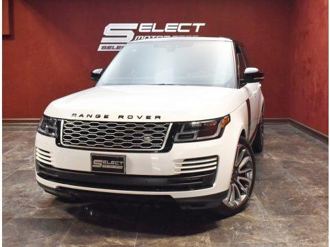 Fuji White 2020 Land Rover Range Rover HSE