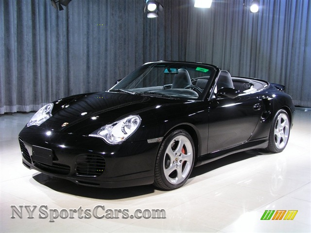 2004 Porsche 911 Carrera 4s Cabriolet In Black 652076