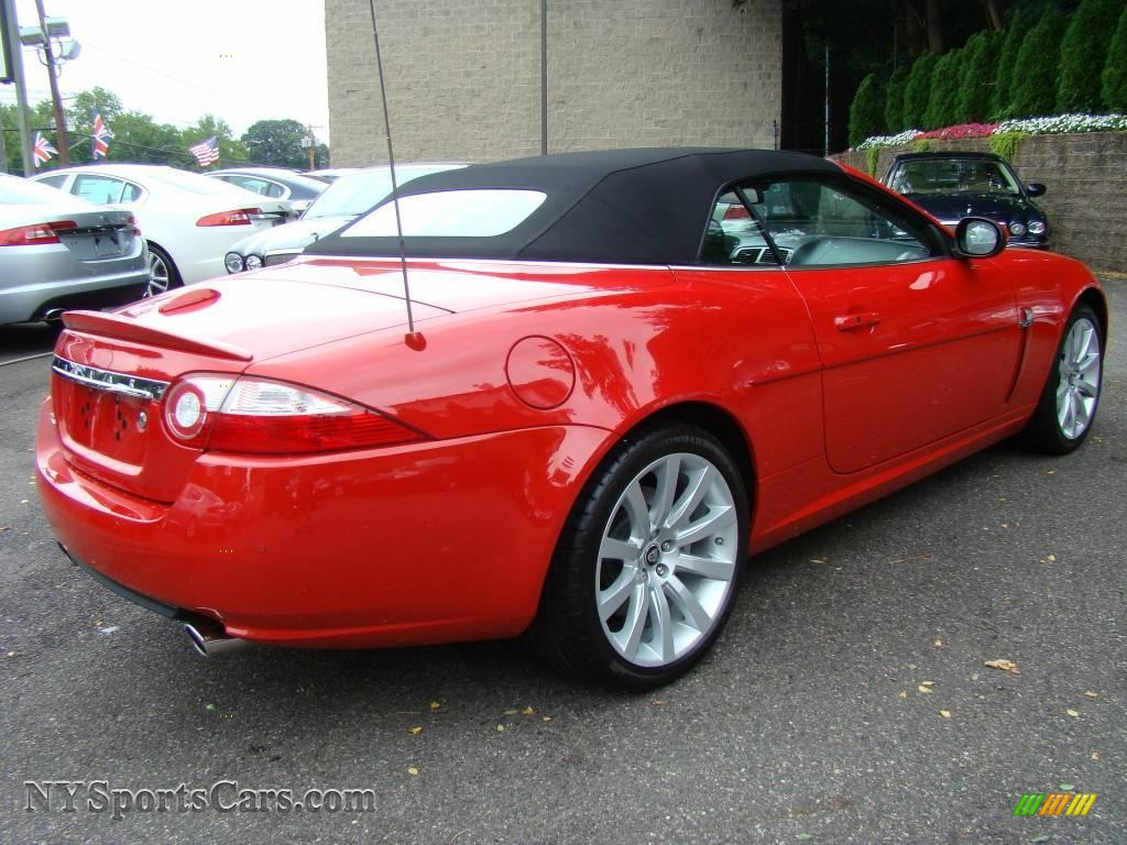 2007 jaguar xk xk8 convertible in salsa red photo 7 b03592 cars for sale. Black Bedroom Furniture Sets. Home Design Ideas