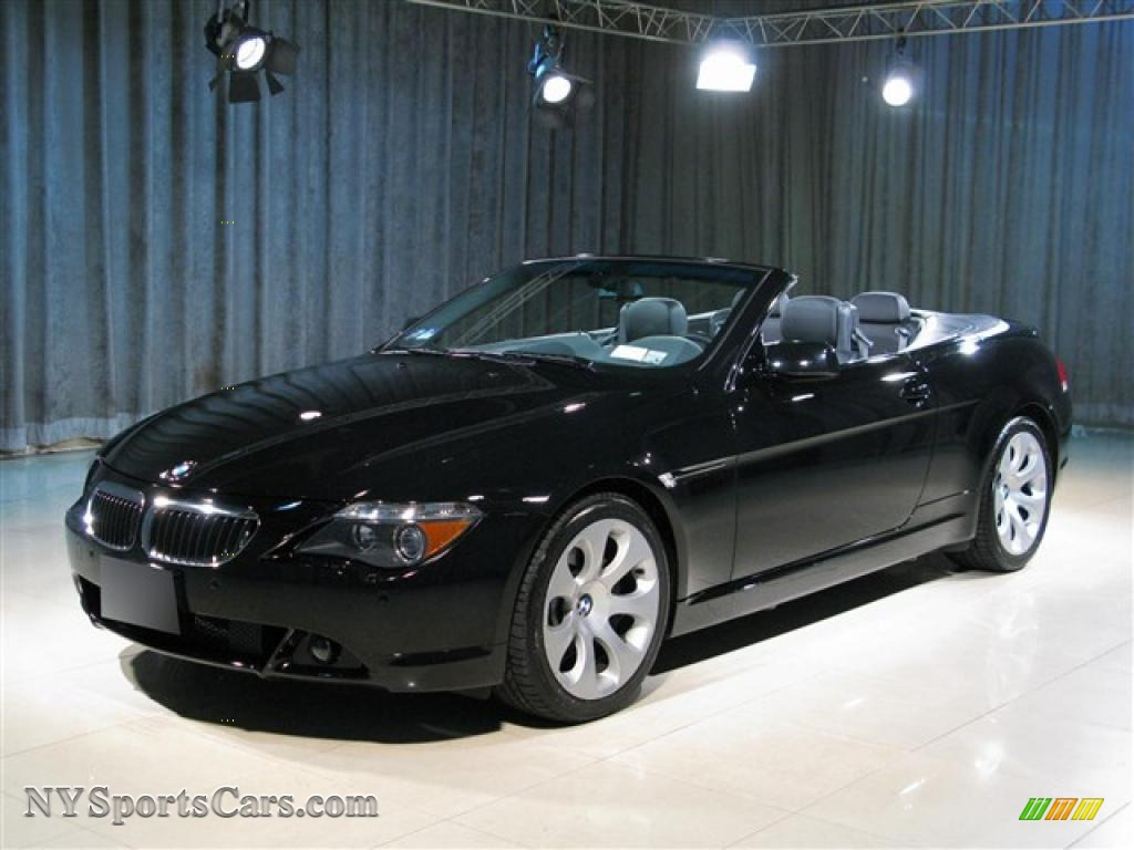 2005 bmw 6 series 645i convertible in jet black 326955 cars for sale in. Black Bedroom Furniture Sets. Home Design Ideas