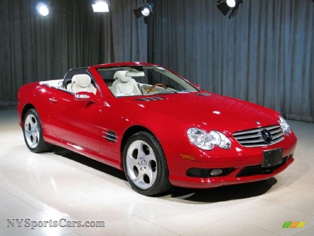 2005 mercedes benz sl 500 roadster in mars red photo 18 092996 cars for. Black Bedroom Furniture Sets. Home Design Ideas