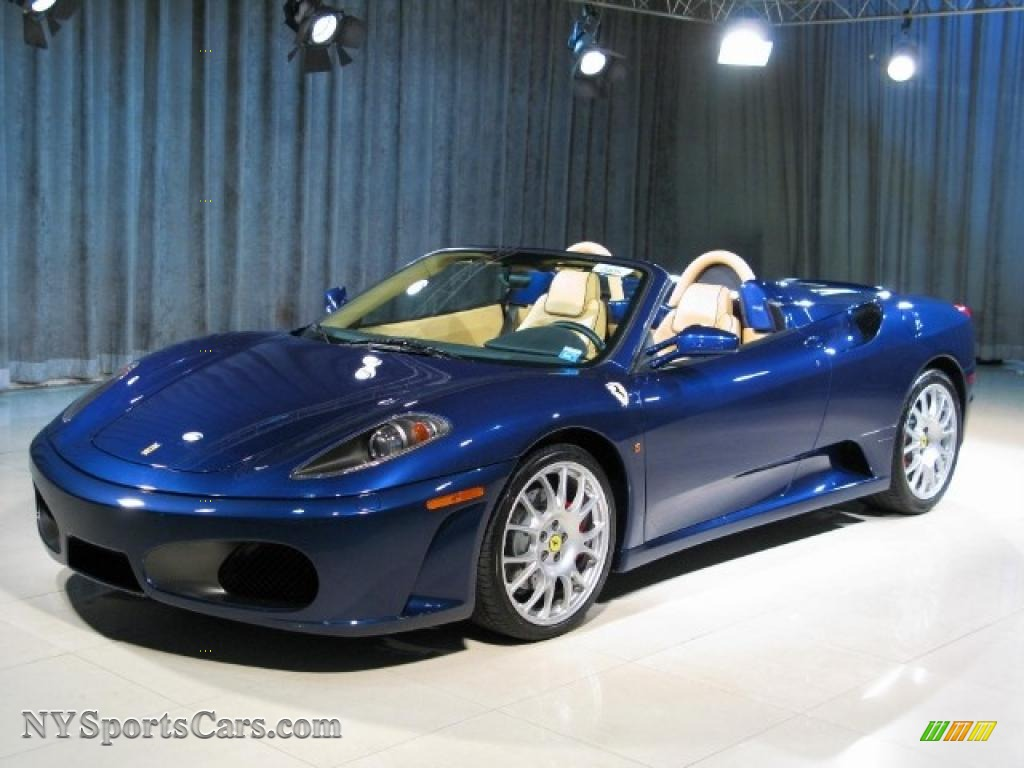 2006 Ferrari F430 Spider In Tour De France Blue 146943