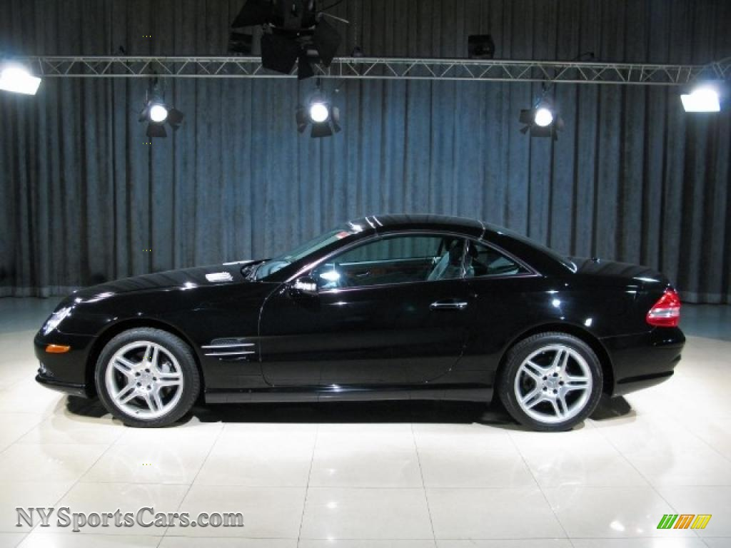 2007 Mercedes Benz Sl 550 Roadster In Black Photo 15