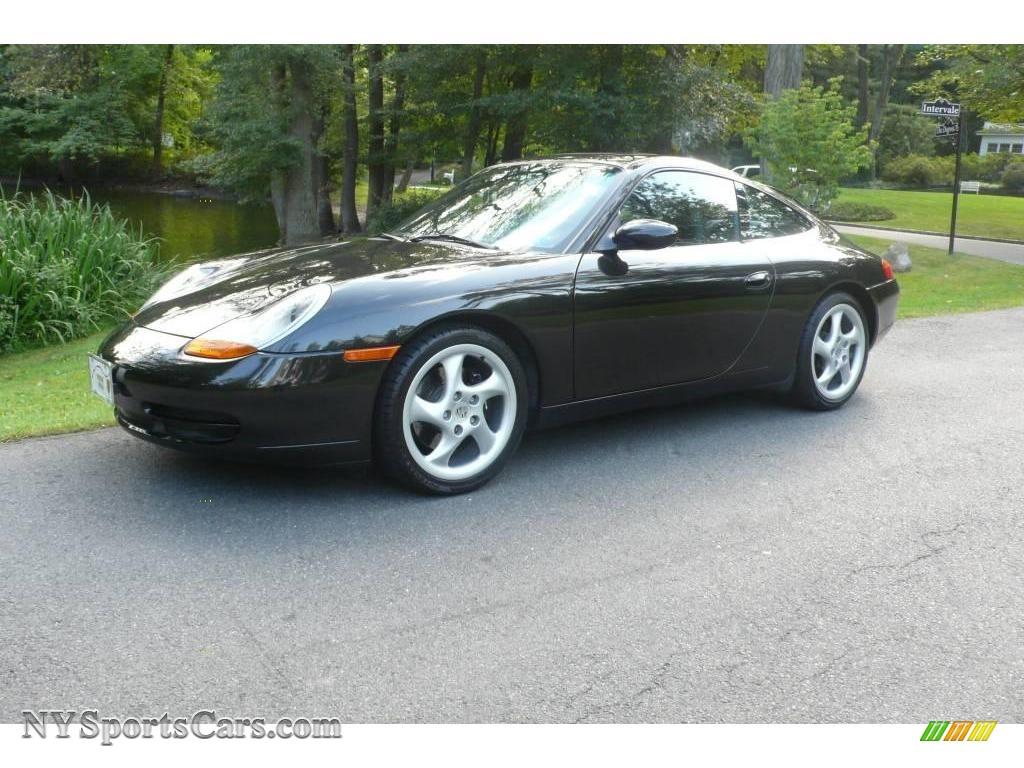 1999 porsche 911 carrera coupe in black metallic 621063. Black Bedroom Furniture Sets. Home Design Ideas