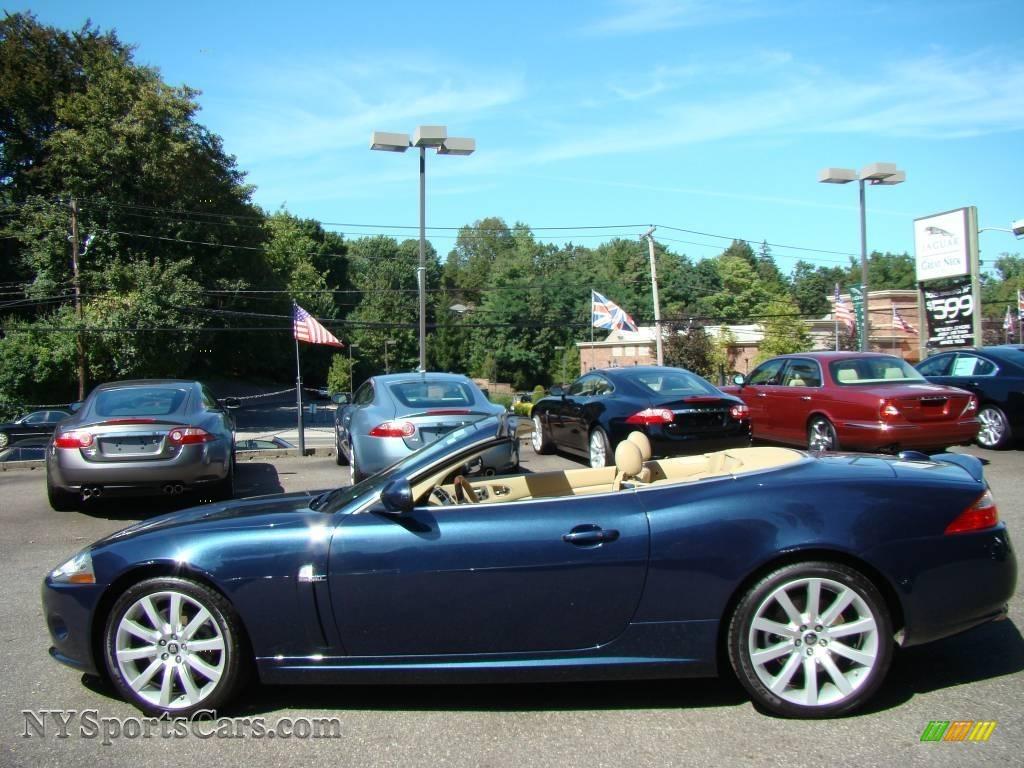 Northern Neck Chevrolet >> 2007 Jaguar XK XK8 Convertible in Indigo Blue Metallic ...
