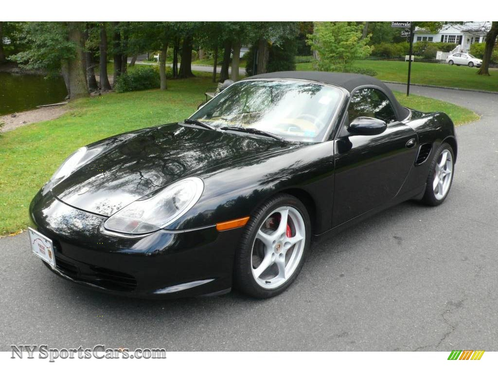 2004 porsche boxster s in black 660260 nysportscars. Black Bedroom Furniture Sets. Home Design Ideas