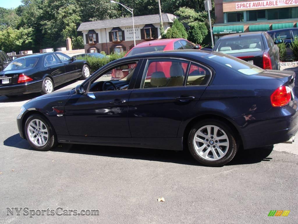 2006 Bmw 3 Series 325i Sedan In Monaco Blue Metallic Photo