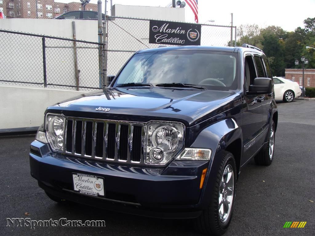 2008 Jeep Liberty : Jeep liberty limited in modern blue pearl