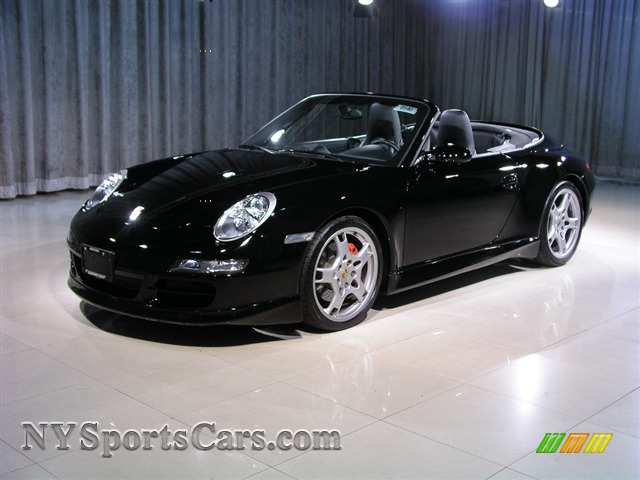 2006 porsche 911 carrera 4s cabriolet in black 767407. Black Bedroom Furniture Sets. Home Design Ideas