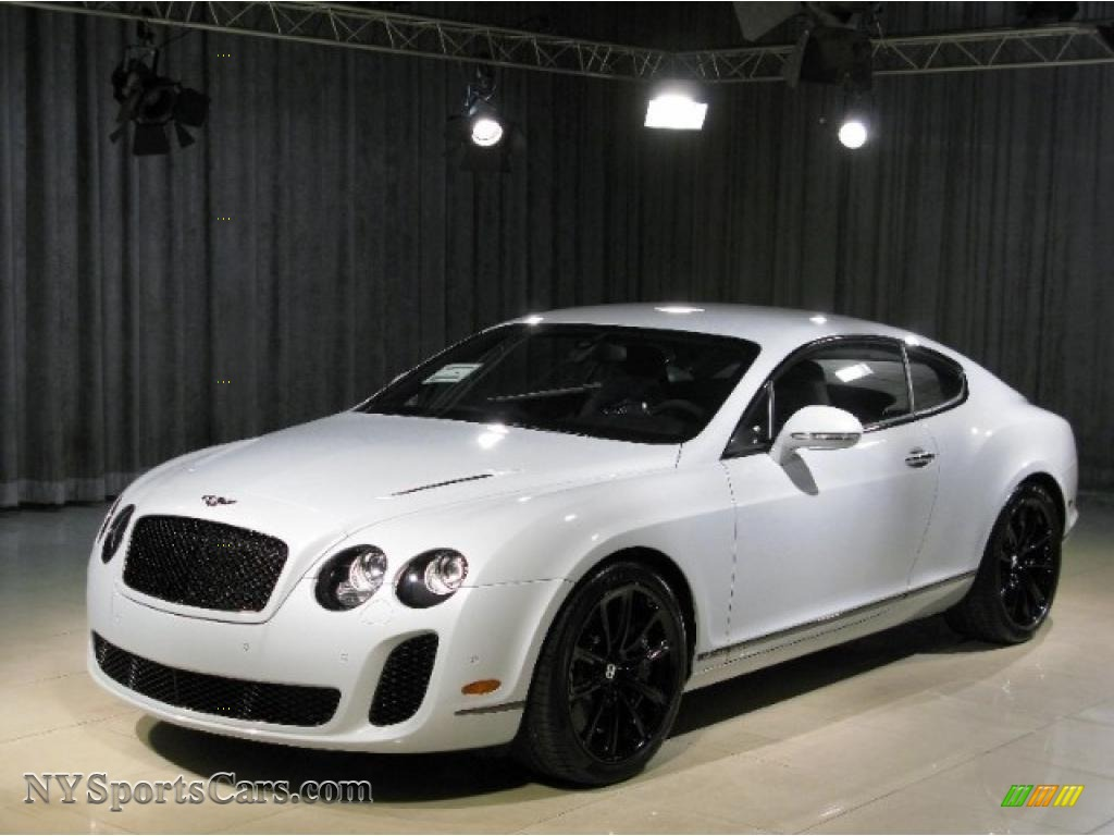 2010 bentley continental gt supersports in ice white 063830 cars for sale. Black Bedroom Furniture Sets. Home Design Ideas