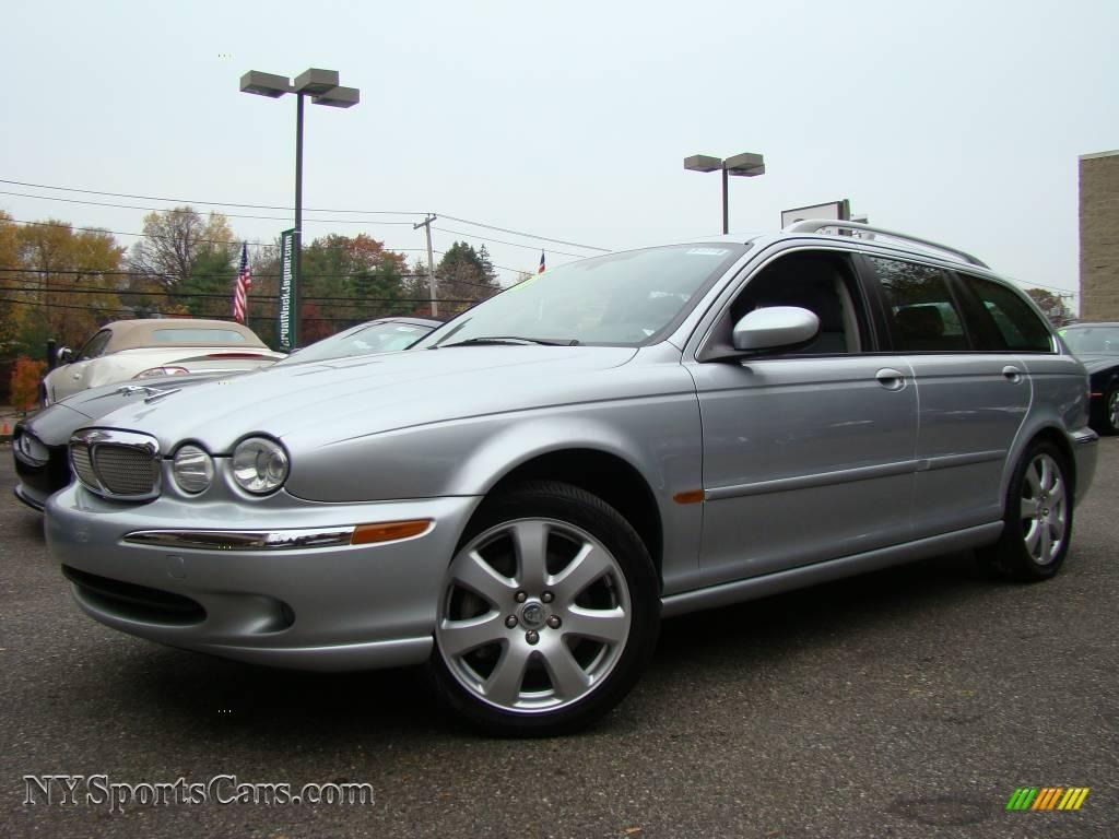 2006 jaguar x type 3 0 sport wagon in liquid silver metallic e98294 cars. Black Bedroom Furniture Sets. Home Design Ideas