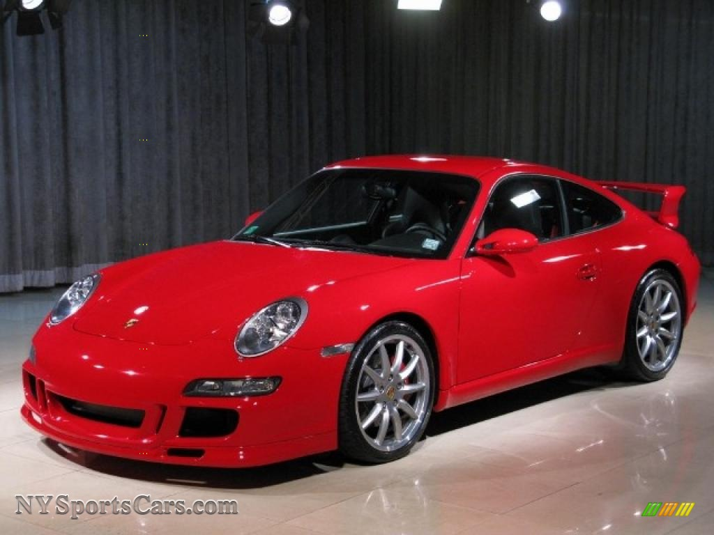 Guards Red / Black Porsche 911 Carrera S Coupe