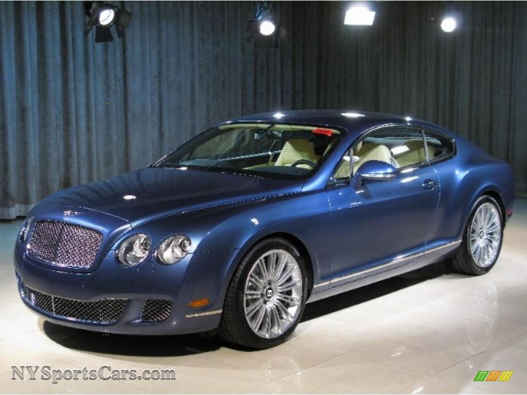 2010 bentley continental gt speed in blue crystal 063038 cars for sale in. Black Bedroom Furniture Sets. Home Design Ideas