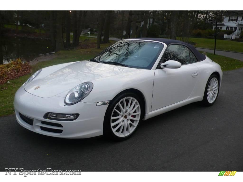 2008 porsche 911 carrera s cabriolet in carrara white 776209 cars for. Black Bedroom Furniture Sets. Home Design Ideas