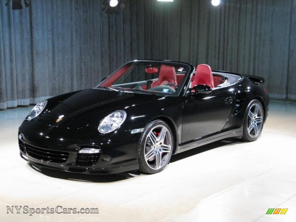 2008 Porsche 911 Turbo Cabriolet In Black 789823