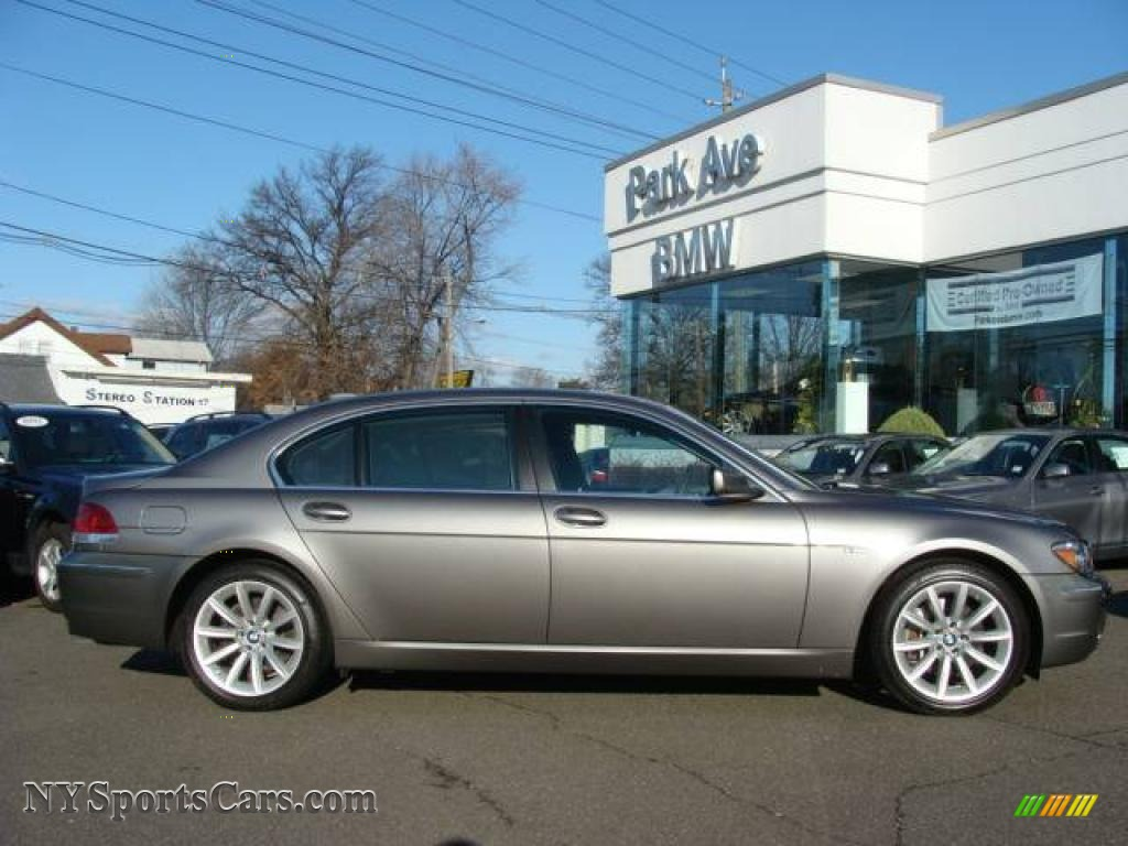 2008 Bmw 7 Series 750li Sedan In Sterling Grey Metallic