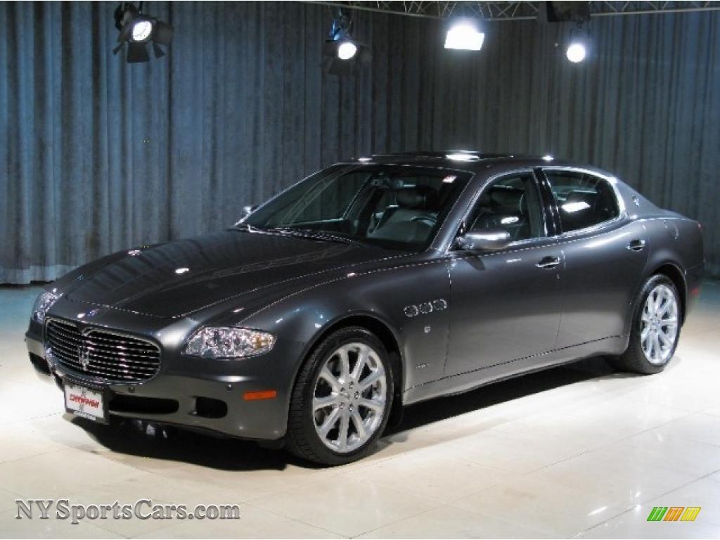 2007 maserati quattroporte in grigio granito dark grey 027125 cars for. Black Bedroom Furniture Sets. Home Design Ideas