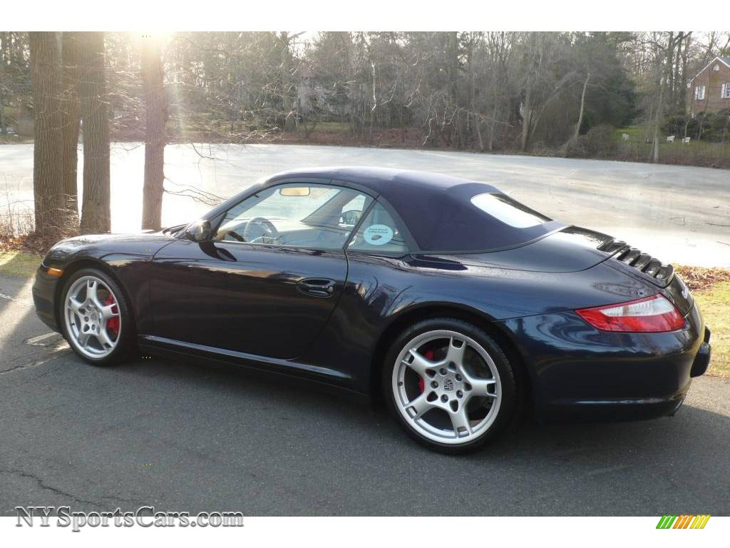 2006 porsche 911 carrera 4s cabriolet in midnight blue. Black Bedroom Furniture Sets. Home Design Ideas