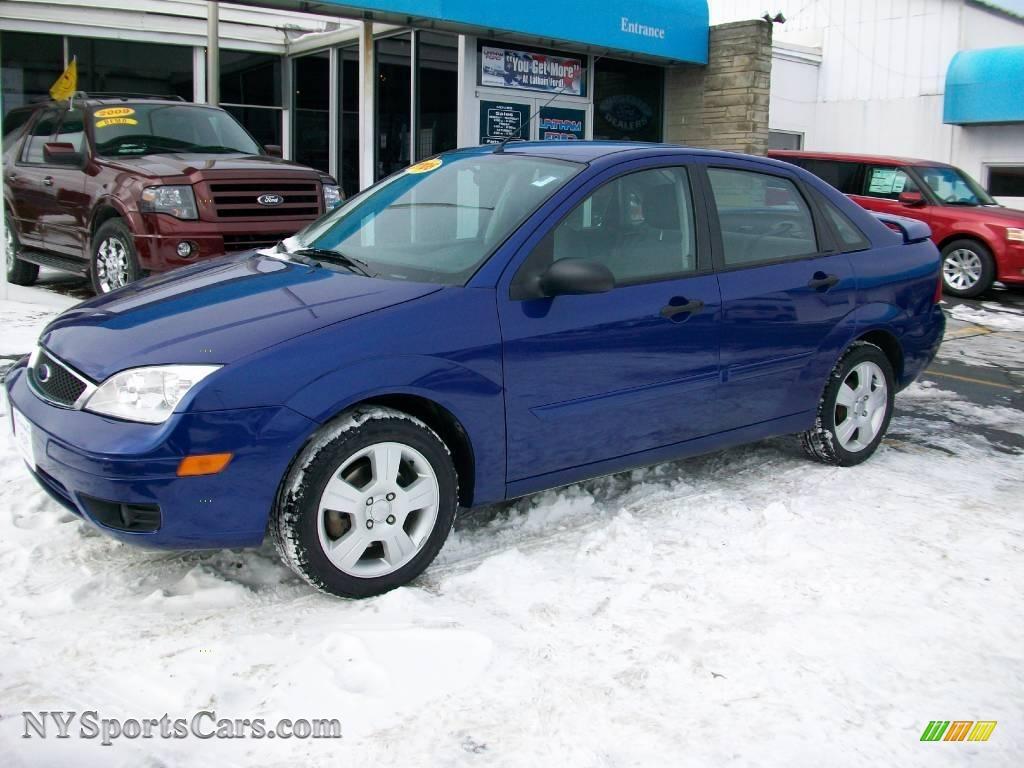 2006 ford focus zx4 ses sedan in sonic blue metallic photo. Black Bedroom Furniture Sets. Home Design Ideas