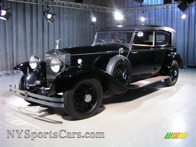 1934 rolls royce phantom ii lhd in black 222ams