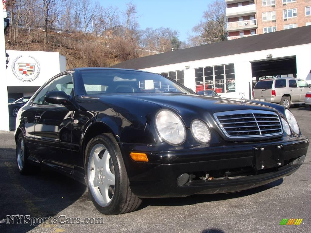 1999 Mercedes Benz Clk 430 Coupe In Black Photo 3