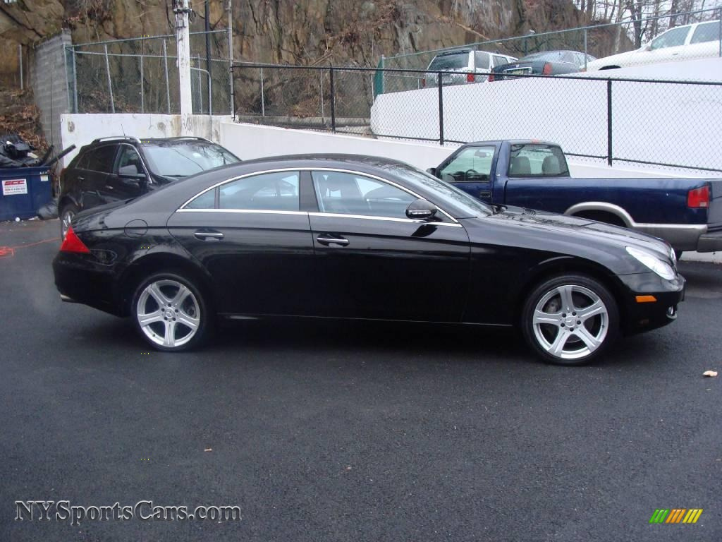 2006 mercedes benz cls 500 in black photo 4 029340 for Mercedes benz cls sale