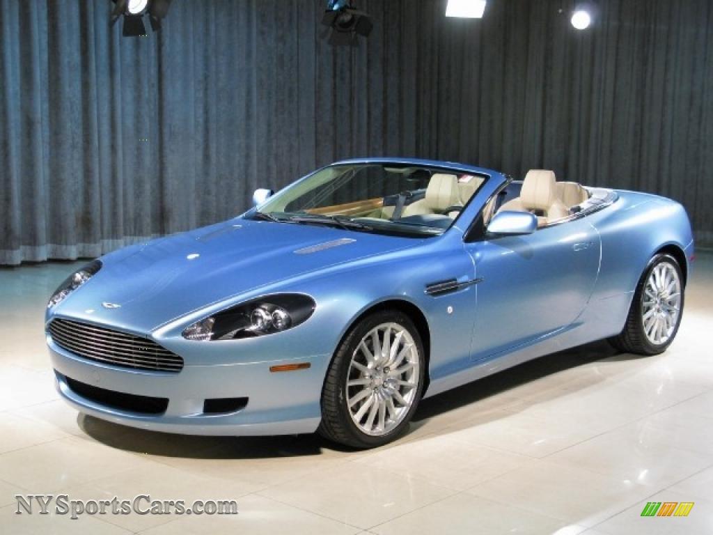 2007 Aston Martin Db9 Volante In Islay Blue B07184 Nysportscars Com Cars For Sale In New York