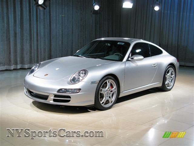 2005 porsche 911 carrera s coupe in arctic silver metallic 740854 cars. Black Bedroom Furniture Sets. Home Design Ideas