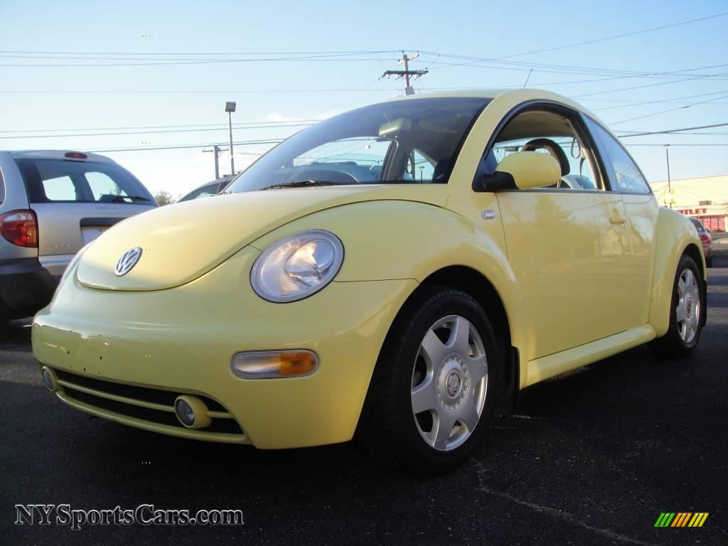 2001 Volkswagen New Beetle GLS TDI Coupe in Yellow - 479381 | NYSportsCars.com - Cars for sale ...