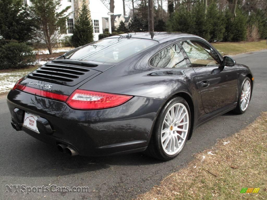 Worksheet. 2009 Porsche 911 Carrera 4S Coupe in Atlas Grey Metallic photo 6