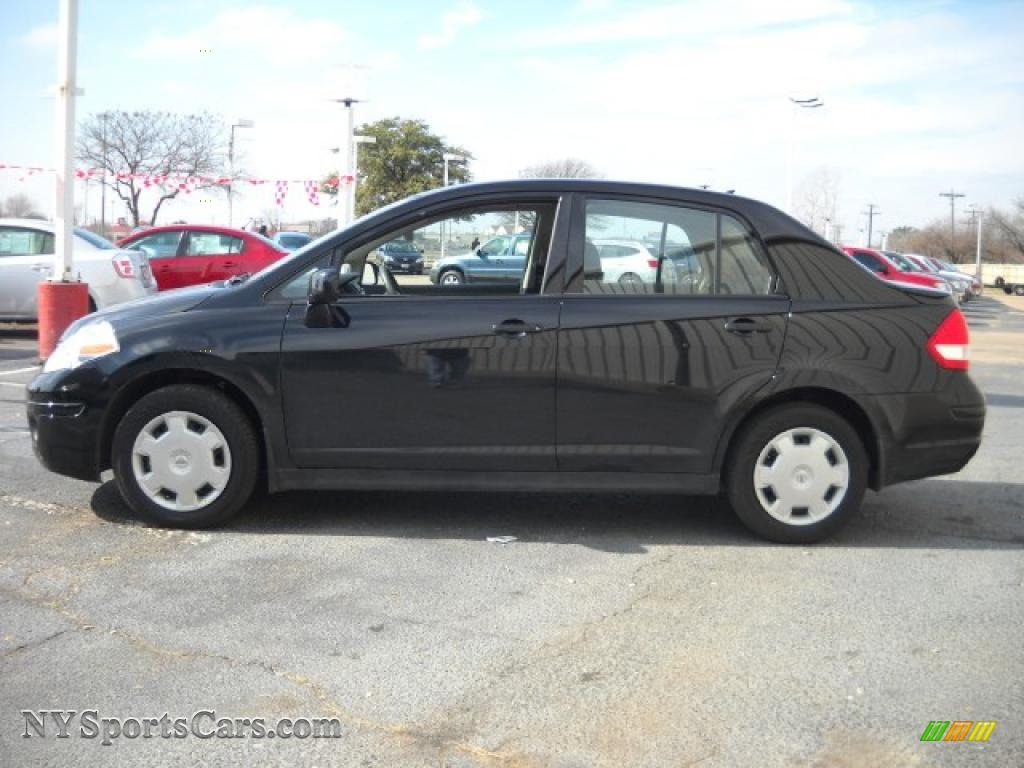 2009 Nissan Versa 1 8 S Sedan In Super Black 452804