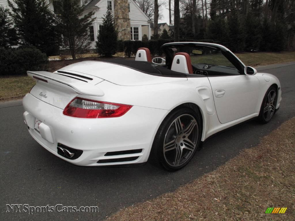 2008 porsche 911 turbo cabriolet in carrara white photo 6. Black Bedroom Furniture Sets. Home Design Ideas