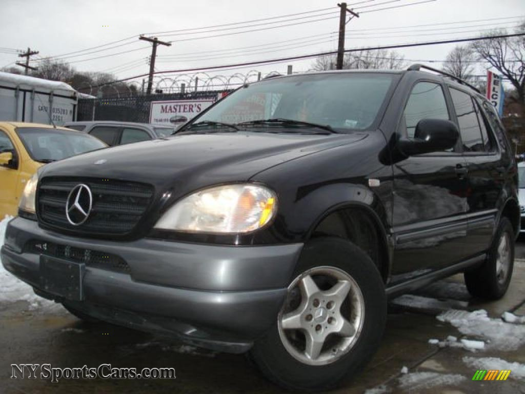 1998 mercedes benz ml 320 4matic in black 034890 cars for sale in new york. Black Bedroom Furniture Sets. Home Design Ideas