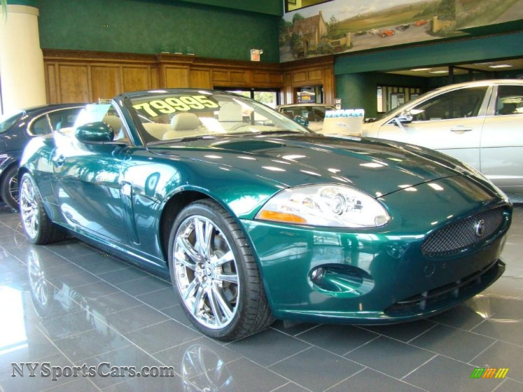 Northern Neck Chevrolet >> 2009 Jaguar XK XK8 Convertible in Emerald Fire photo #2 - B28689 | NYSportsCars.com - Cars for ...