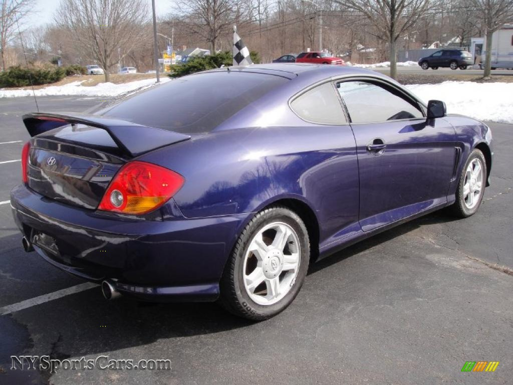 2003 hyundai tiburon in carbon blue photo 6 022289. Black Bedroom Furniture Sets. Home Design Ideas