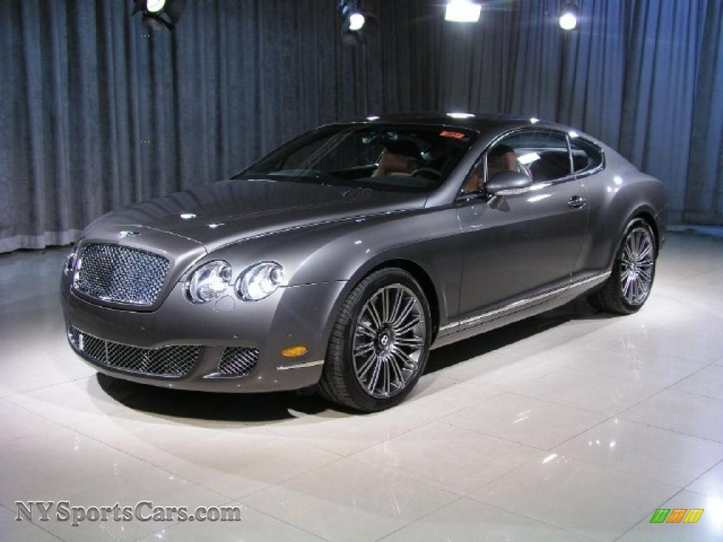 2008 bentley continental gt speed in granite 056696 cars for sale in new york. Black Bedroom Furniture Sets. Home Design Ideas