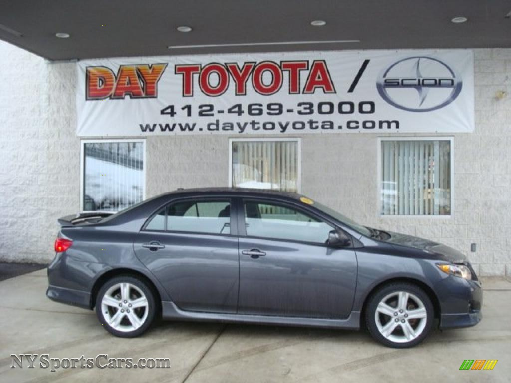 2009 Toyota Corolla Xrs In Magnetic Gray Metallic 017140