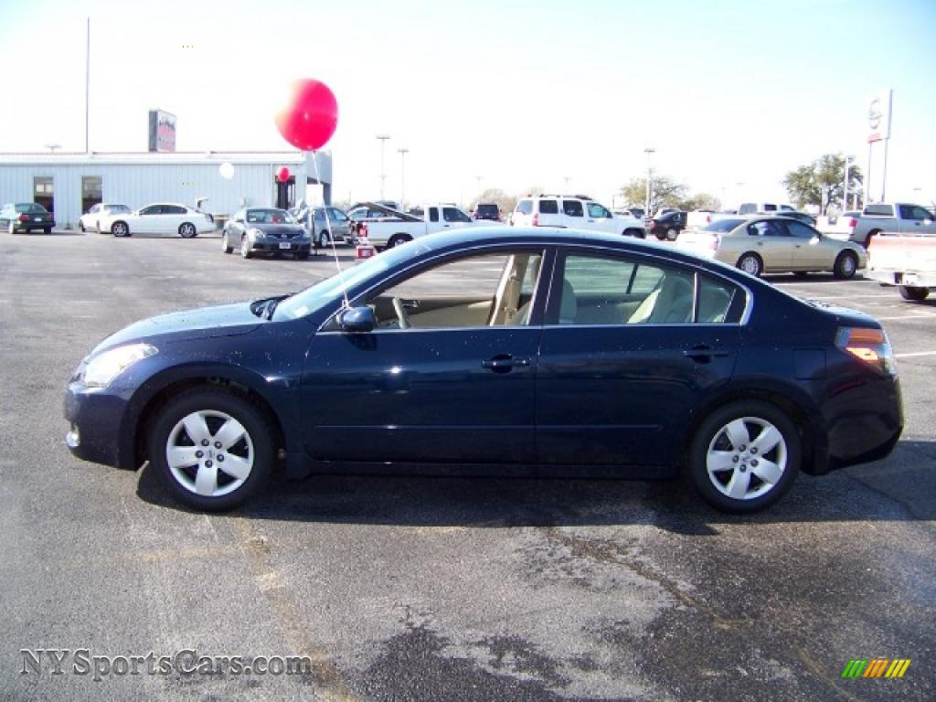 2007 Nissan Altima 2 5 S In Majestic Blue Metallic 209611