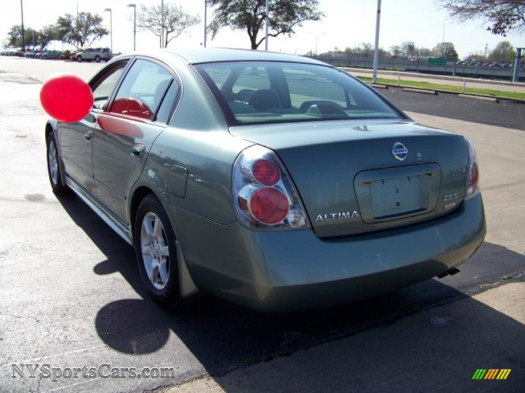 Marvelous 2006 Altima 2.5 S Special Edition   Mystic Emerald Metallic / Blond Photo #6