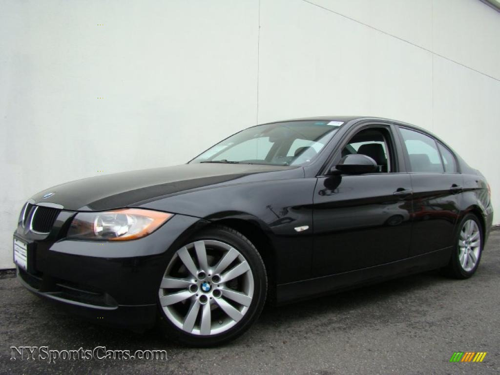 2007 bmw 3 series 328i sedan in black sapphire metallic x78182 cars for. Black Bedroom Furniture Sets. Home Design Ideas