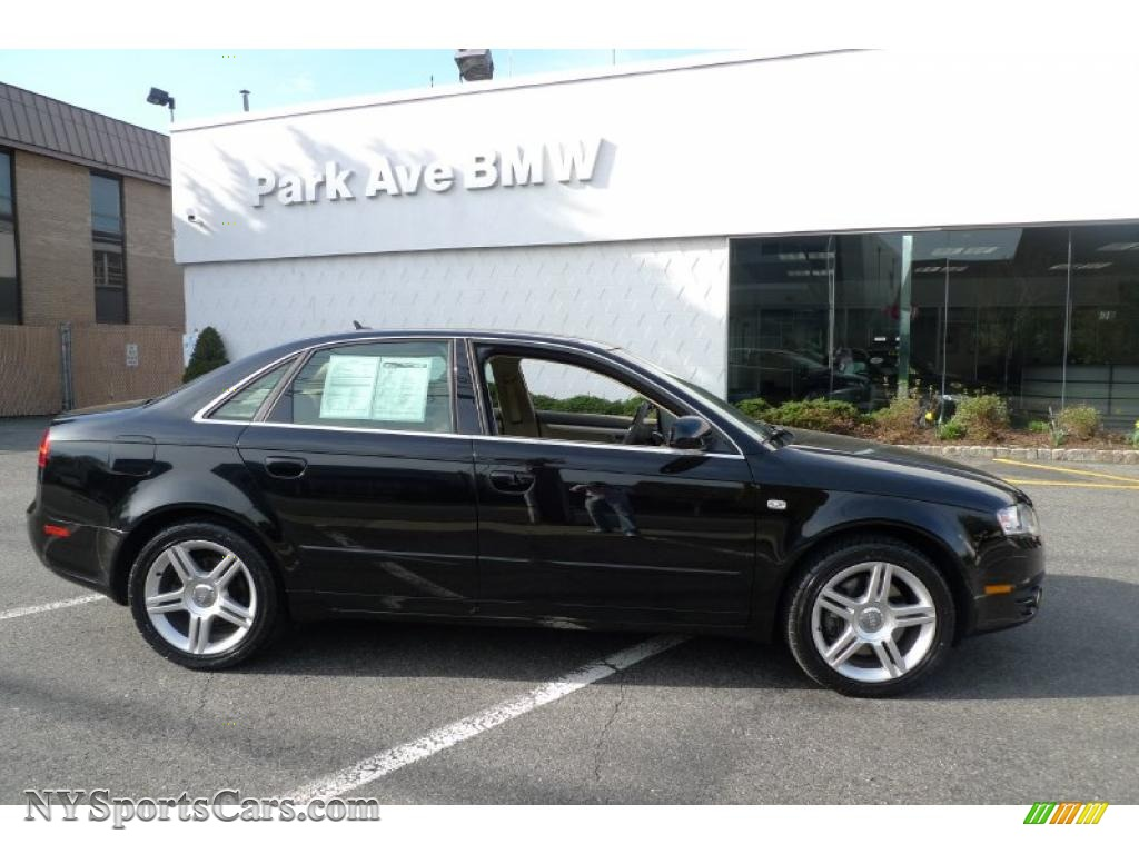 2007 audi a4 2.0t quattro sedan in brilliant black - 189767