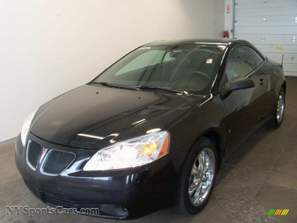 2007 pontiac g6 gt convertible in black photo 5 133651. Black Bedroom Furniture Sets. Home Design Ideas