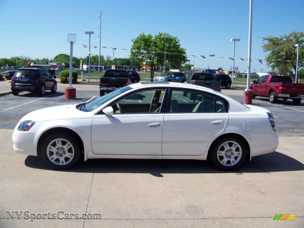 2006 Nissan Altima 2 5 S In Satin White Pearl 445603