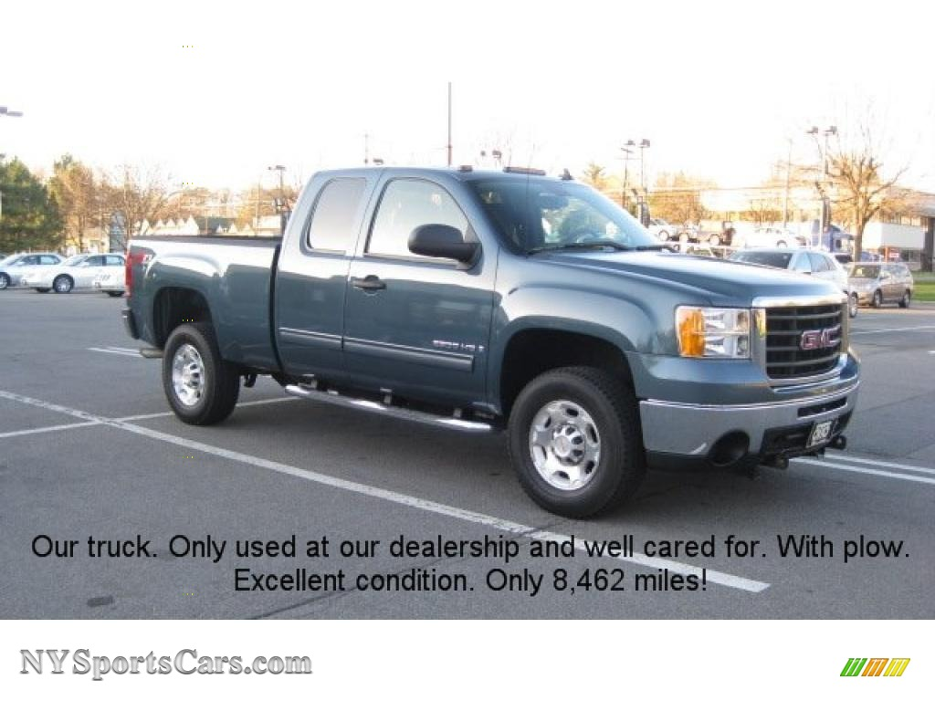 2009 GMC Sierra 2500HD SLE Extended Cab 4x4 in Stealth ...