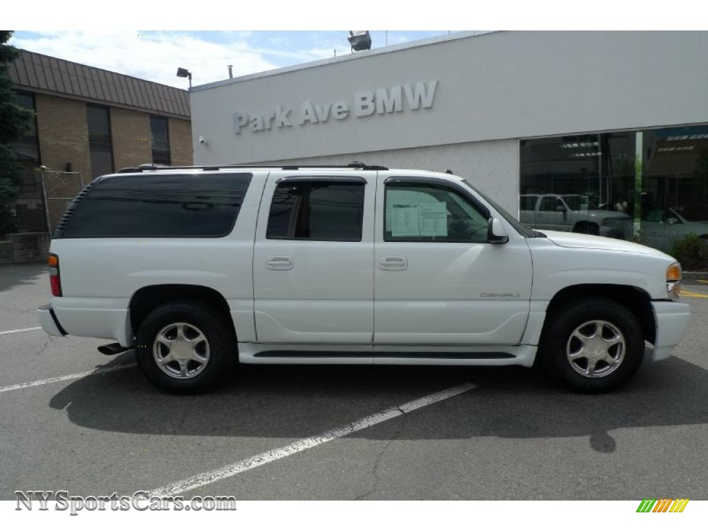 2004 gmc yukon xl denali awd in summit white 143645 cars for sale in new york. Black Bedroom Furniture Sets. Home Design Ideas