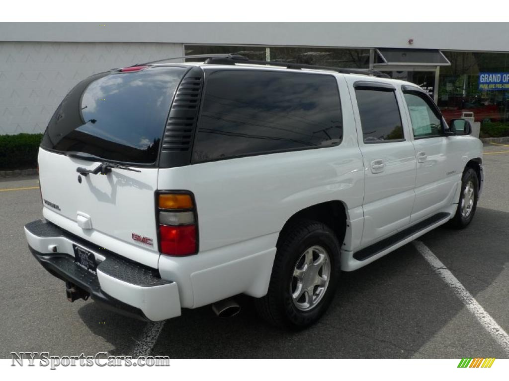 2004 gmc yukon xl denali awd in summit white photo 15 143645 cars for. Black Bedroom Furniture Sets. Home Design Ideas